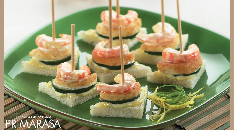 Resep Shrimp And Tofu Canape