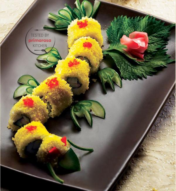 Resep Dragon Roll