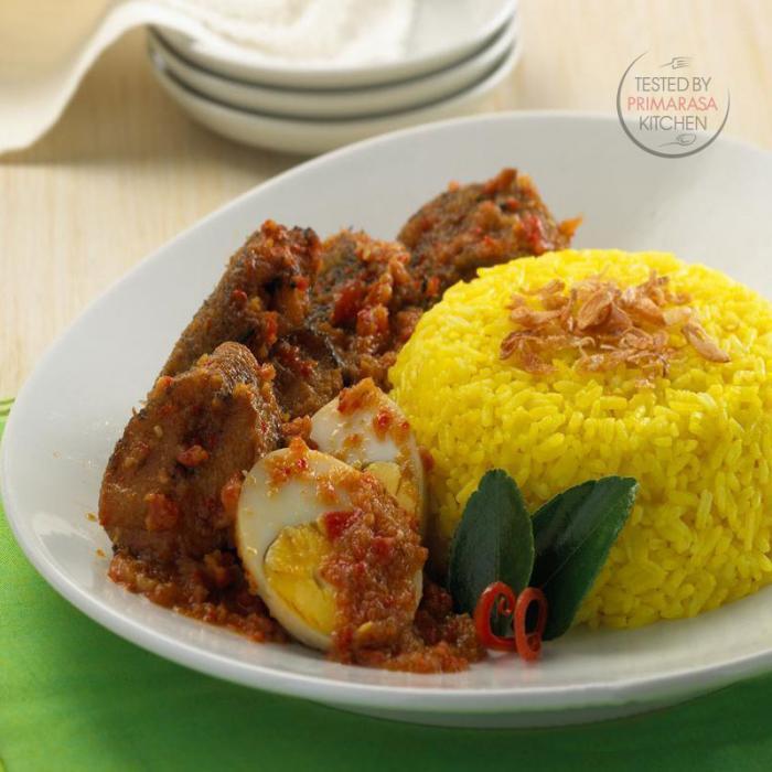 Resep Nasi Kuning Banjar