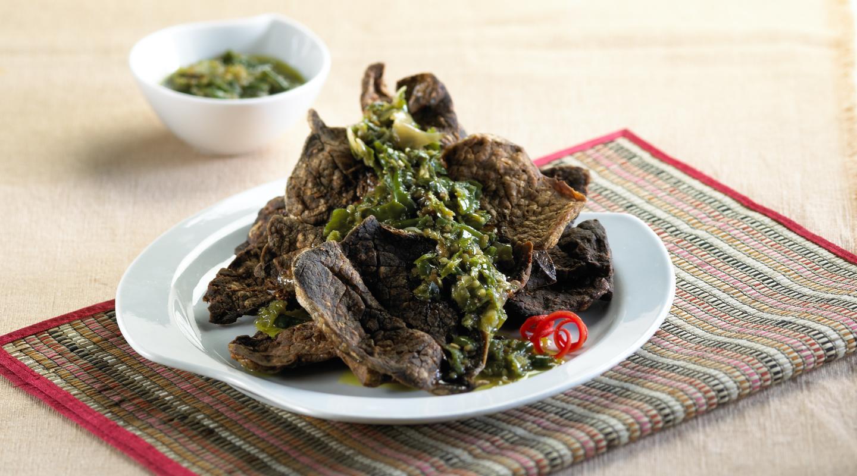 Resep Paru Goreng Cabai Hijau Minyak Ijo Primarasa