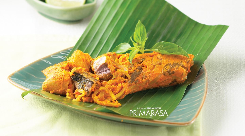 Resep Pepes Ikan Tongkol Mangga Muda