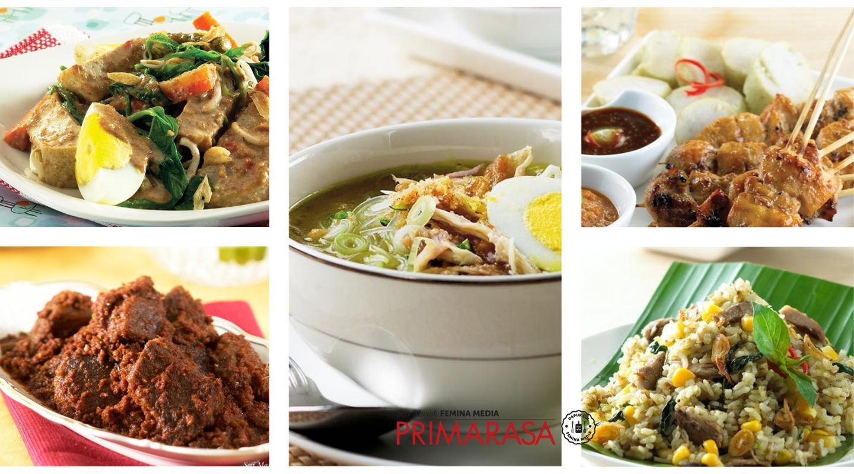 5 Resep Makanan Nasional Indonesia Wajib Coba