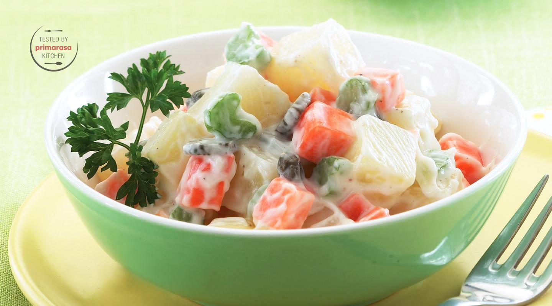 Salad Ayam Sayuran Resep Dari Dapur Kobe