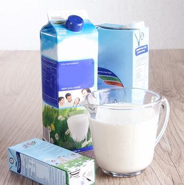 susu UHT untuk campuran olesan